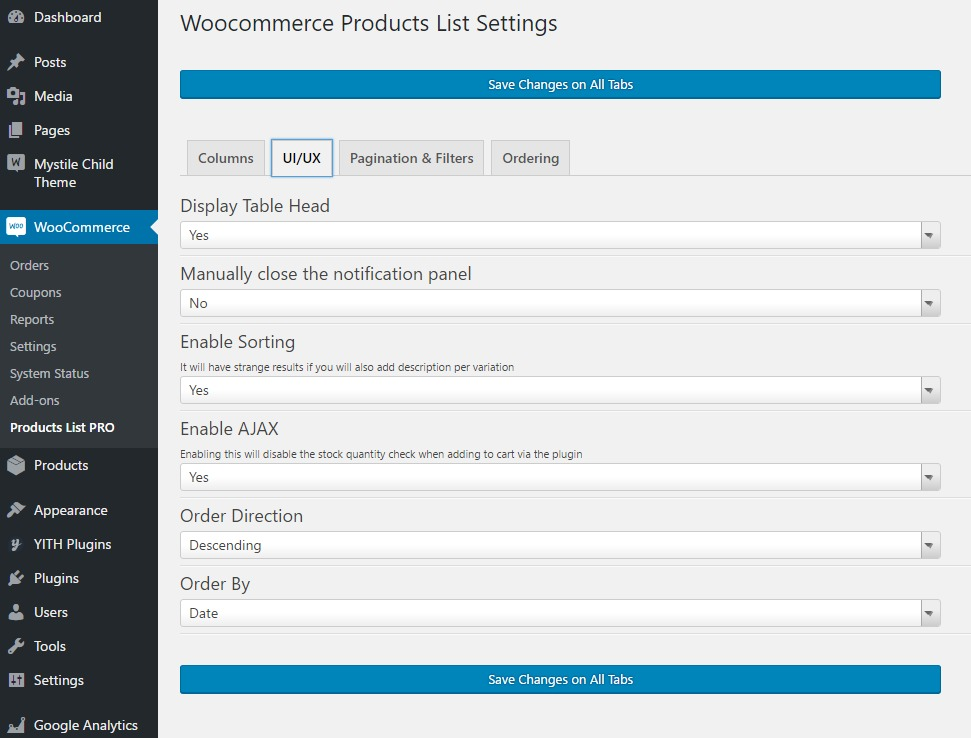 woocommerce products list pro by nitroweb codecanyon. Black Bedroom Furniture Sets. Home Design Ideas