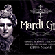 Mardi Gras-Flyer Template