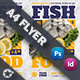 Sea Food Restaurant Flyer Templates