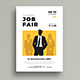 Job Fair Flyer Template - GraphicRiver Item for Sale