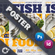 Sea Food Restaurant Poster Templates