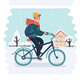 Cyclists - GraphicRiver Item for Sale