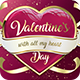 Valentine`s Day Flyer - GraphicRiver Item for Sale