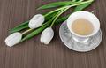 Tea and tulips - PhotoDune Item for Sale
