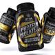 Whey Protein Supplement Label Vol-36