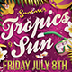Summer Tropics Flyer Template - GraphicRiver Item for Sale