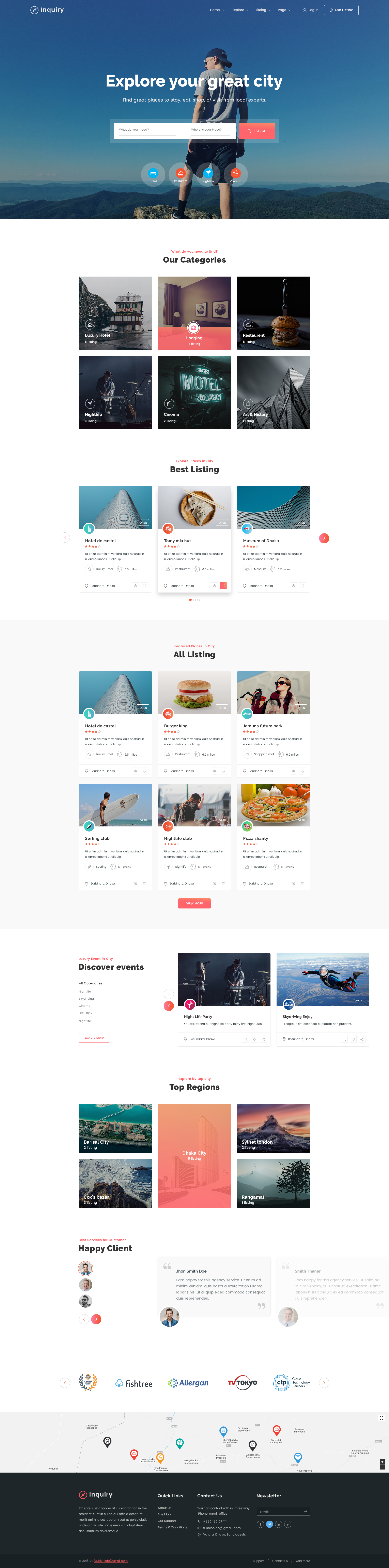Inquiry - Directory & Listing Template