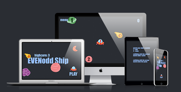 Math Game: Even Odd Ship - CodeCanyon Item for Sale