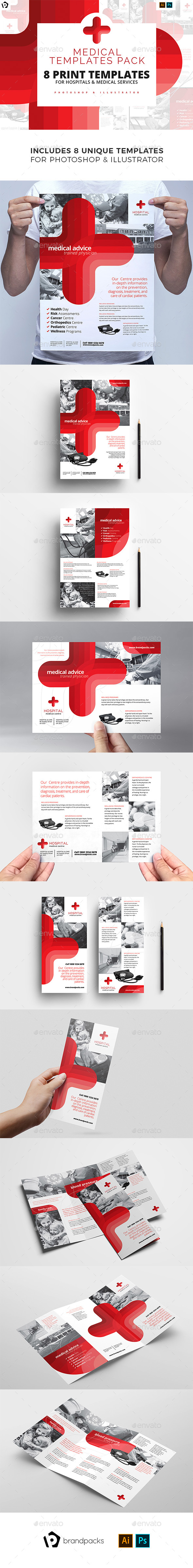Medical Templates Bundle - Corporate Flyers