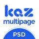 Kaz Business PSD Template - ThemeForest Item for Sale