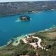 Aerial View Krka River, Croatia - VideoHive Item for Sale