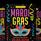Mardi Gras Flyer vol.3