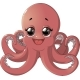 Octopus Cartoon - GraphicRiver Item for Sale