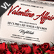 Valentine Affair Poster / Flyer V01 - GraphicRiver Item for Sale