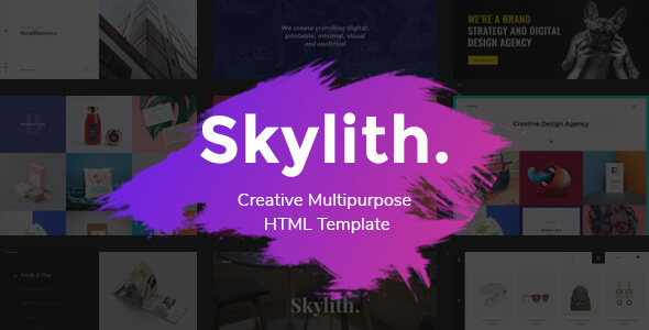 Image of Skylith - Viral & Creative Multipurpose HTML Template