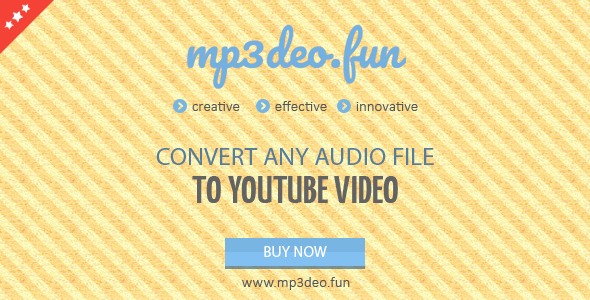 Audio to Video Converter - CodeCanyon Item for Sale