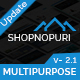Shopnopuri - Multipurpose HTML5 Template