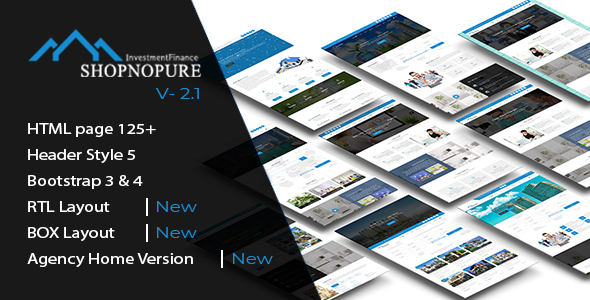 Shopnopuri - Multipurpose HTML5 Template - Corporate Site Templates