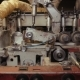 Woodworking Machine in the Shop - VideoHive Item for Sale