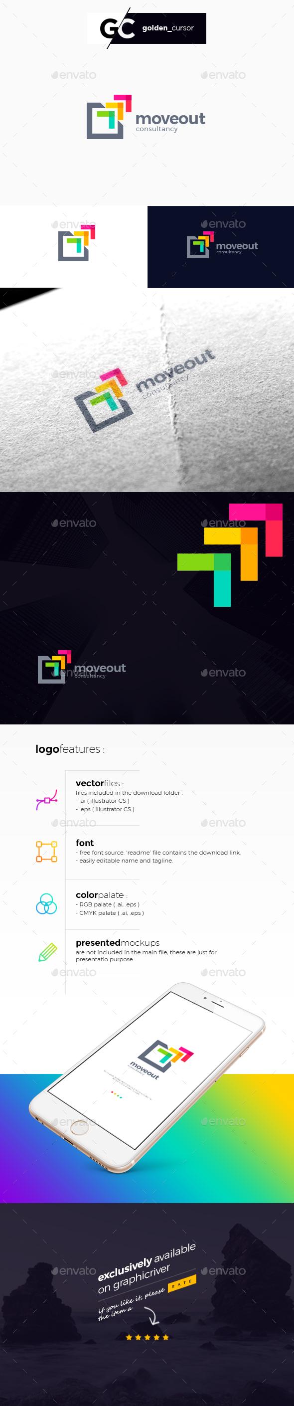 Abstract Growth Arrow Logo - Abstract Logo Templates