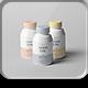 Cosmetic Bottle Mock-up 3