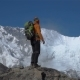 The Tourist Climbs in the Himalayas - VideoHive Item for Sale