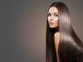 Beautiful long hair. Beauty woman with straight black hair on da - PhotoDune Item for Sale