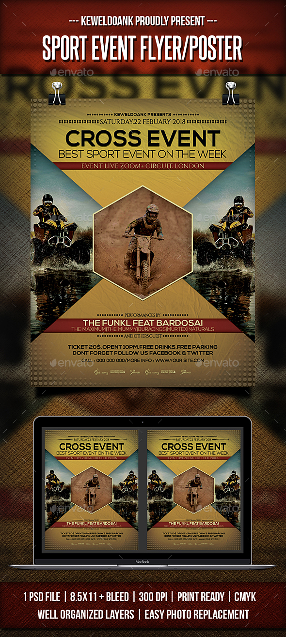 Sport Event Flyer / Poster - Sports Events