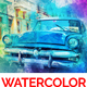 Watercolor Artist Photoshop Action