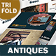 Antique Store Trifold Brochure