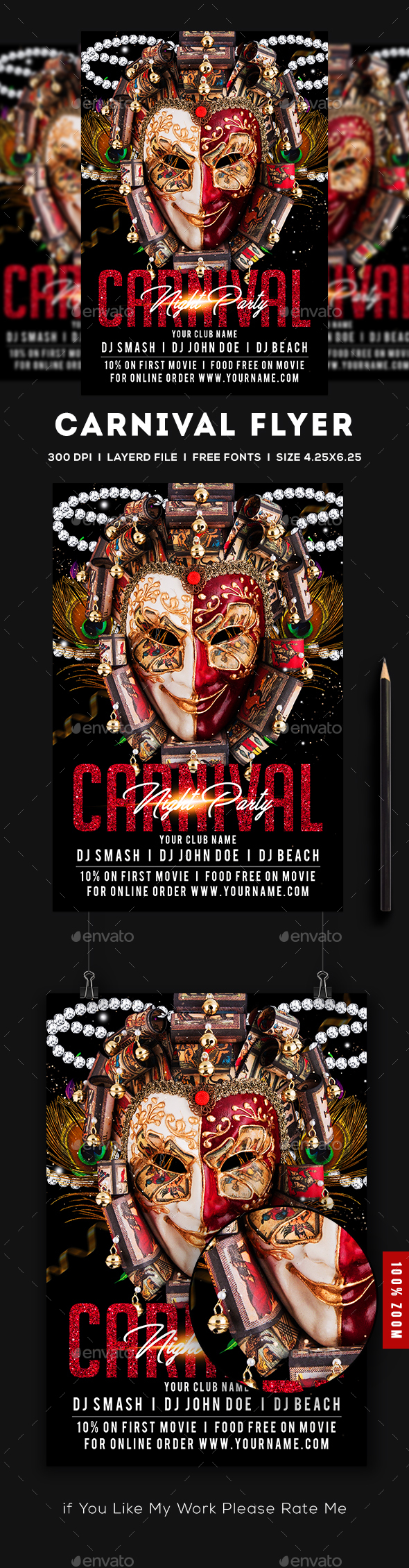 Carnival Flyer - Flyers Print Templates