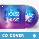 House Music - CD Cover Artwork Template - GraphicRiver Item for Sale