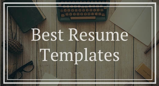Best Resumes Templates