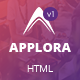 Applora - App Landing Page