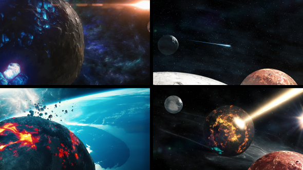 fantasy planets 3 pack of 4 by savagerus videohive