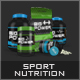 Sport Nutrition Pack Mock Up