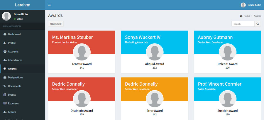 Laravel Human Resource Management System By Louielapig