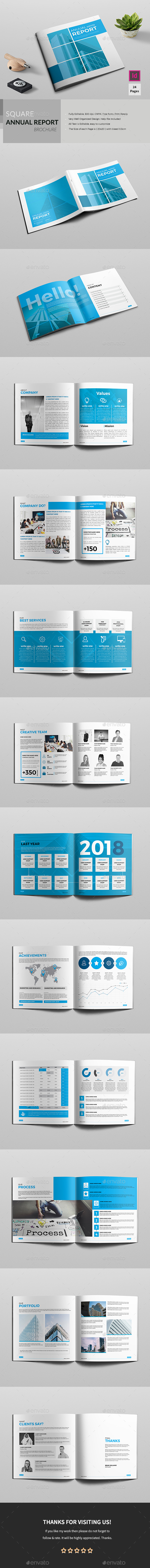 Square Annual Brochure - Corporate Brochures