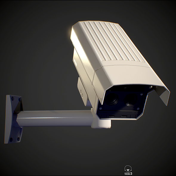 Security Camera PBR - 3DOcean Item for Sale