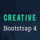 Creative - Bootstrap 4 HTML5 Responsive Template for Startups and Freelancers
