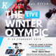 Winter Olympic Flyer Templates - GraphicRiver Item for Sale