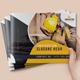 Construction Landscape Bifold Brochure