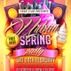 Urban Spring Party Flyer - GraphicRiver Item for Sale