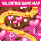 Valentine Vertical Seamless Game Map - GraphicRiver Item for Sale