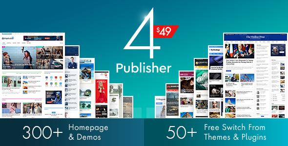 Publisher - Newspaper Magazine AMP