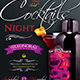 Cocktails Night Flyer Template