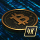 4K Bitcoin Loop - VideoHive Item for Sale