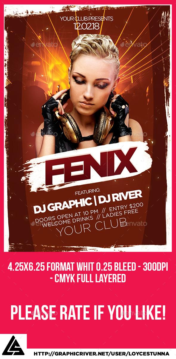 Fenix Flyer Template - Events Flyers