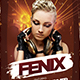 Fenix Flyer Template