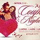 Couple Night Flyer Template - GraphicRiver Item for Sale